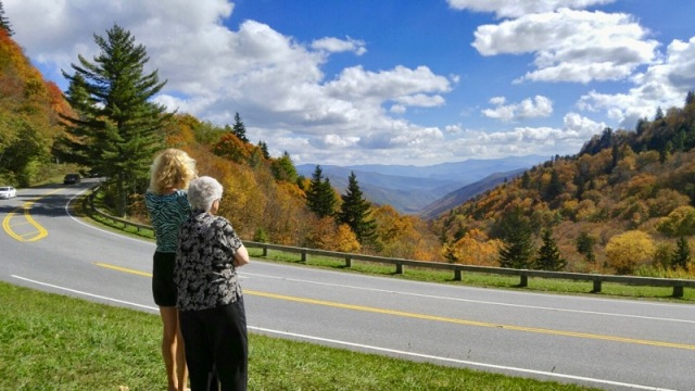 Mom and Rachelle with fall colors.jpg