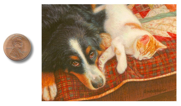 dog painting commission, cat painting commission, cute pet portrait
