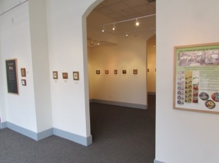 Exquisite Miniatures exhibition at spiva arts center
