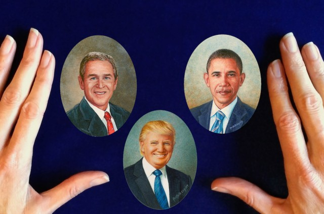 Presidential Portrait Miniatures by Wes and Rachelle Siegrist1