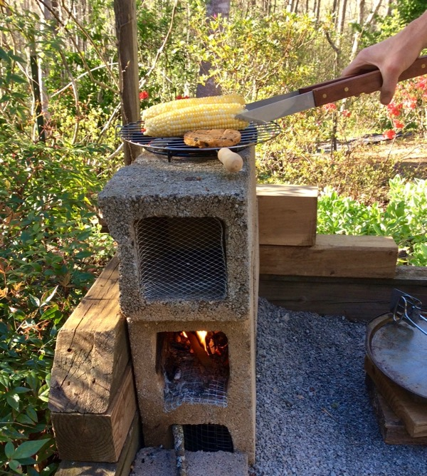 wes siegrists rocket stove