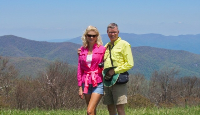 wes and rachelle siegrist on huckleberry bald.jpg
