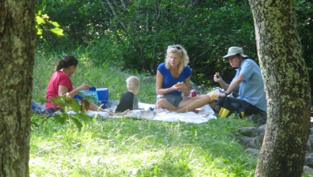 picnic in cades cove rachelle wes siegrist