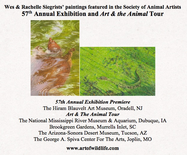 Siegrist paintings in SAA 57th Annual and Tour