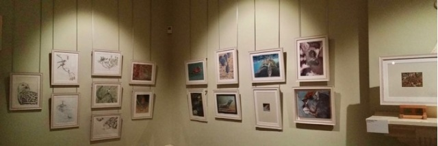 Siegrist paintings on display at the Nature In Art Gallery and Museum