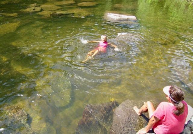 rachelle siegrist swimming