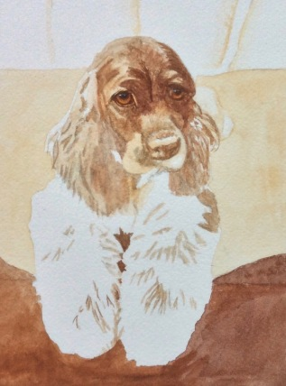 dog painting by Rachelle Siegrist3