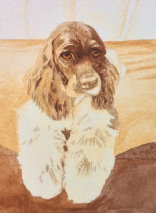 dog painting by Rachelle Siegrist4