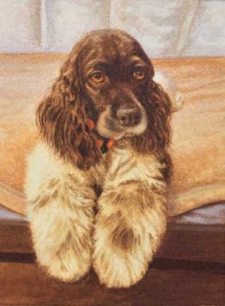 dog painting by Rachelle Siegrist8