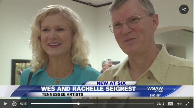 wes and rachelle siegrist TV 7 birds in art interview