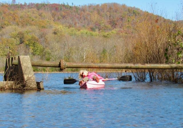 kayaking woth rachelle siegrist