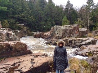 rachelle siegrist at Dells of the Eau Claire