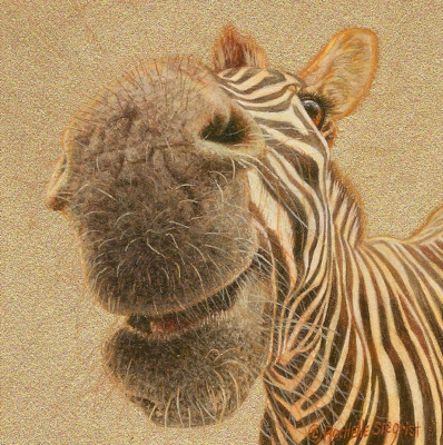 Zebra-Painting-Zebra_Kisses-by-Rachelle-Siegrist