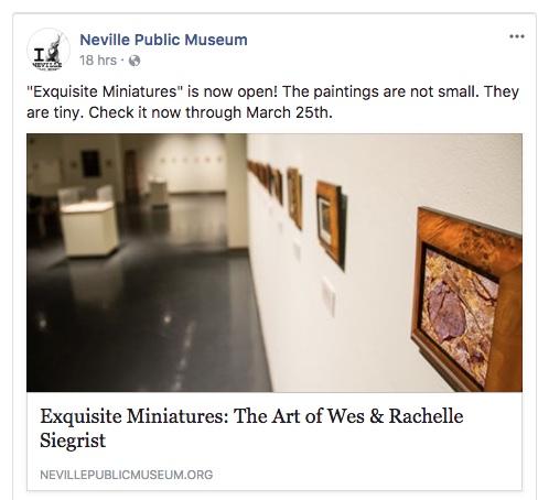 Exquisite Miniatures at the Neville Public Museum
