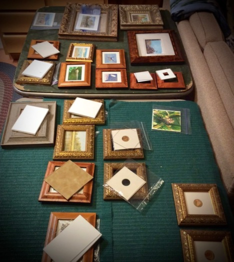 framing miniature paintings