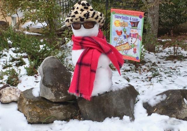 Rachelle Siegrist's snowman