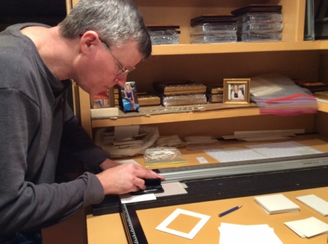 wes siegrist framing miniature paintings