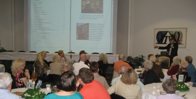 wes siegrist lecturing on miniature paintings MASF 2010