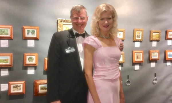 wes and rachelle siegrist at SEWE gala opening