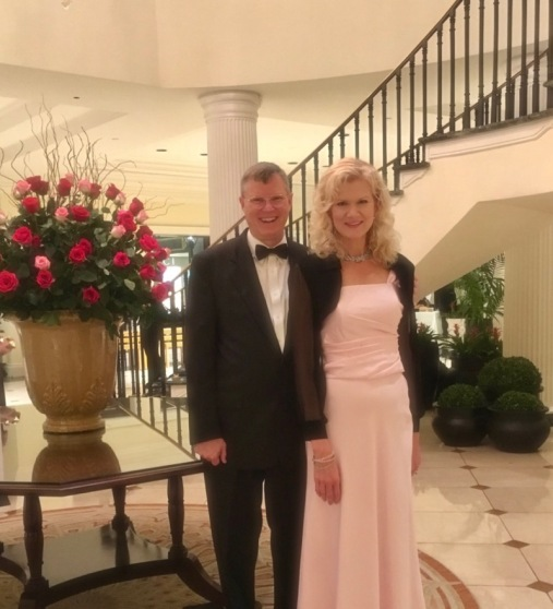 wes and rachelle siegrist at SEWE gala