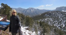Rachelle siegrist in Rocky Mountain National Park