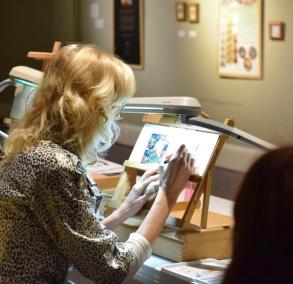 rachelle sisgrist Exquisite miniature exhibition at customs house museum