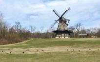 windmill by fox river