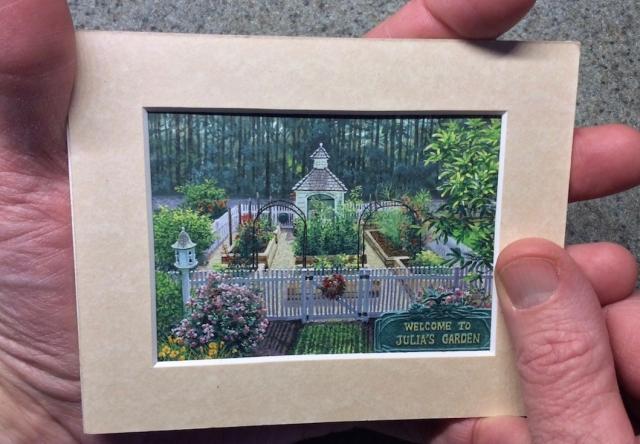 Wes Siegrist's painting Julia's Garden