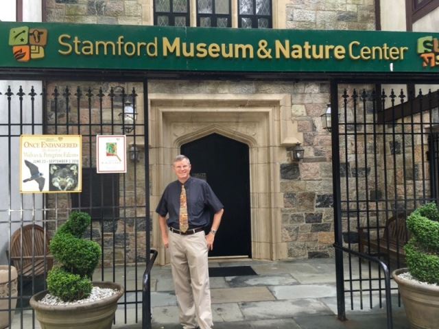wes siegrist stamford museum & Nature Center