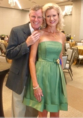 wes and rachelle siegrist at james museum of western & wildlife art