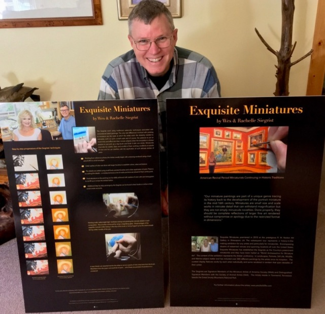 exquisite miniatures exhibition wes and rachelle siegrist