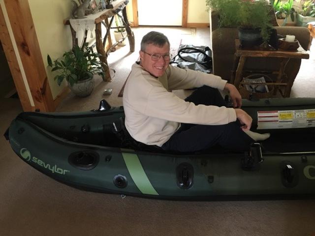 wes siegrist fishing kayak
