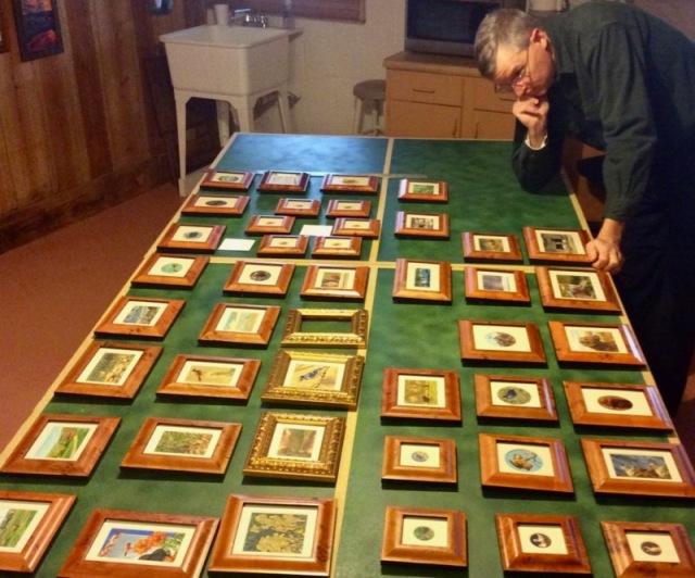wes siegrist miniature paintings SEWE