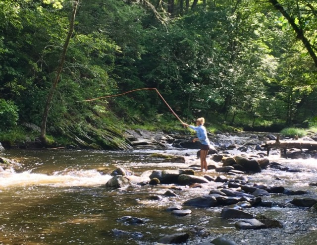 rachelle siegrist fly fishing