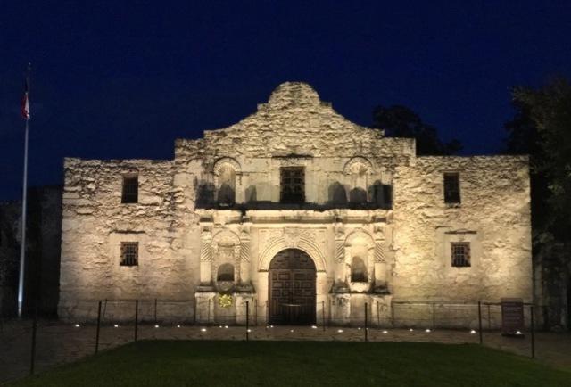 rachelle siegrist at the Alamo