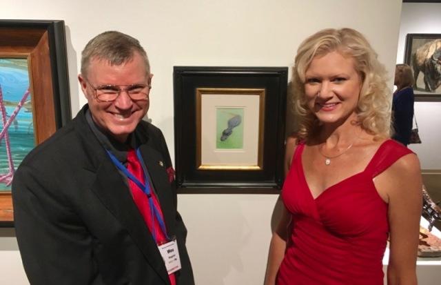 wes & rachelle siegrist SAA annual at briscoe art museum