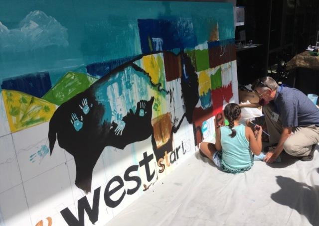 wes siegrist & SAA at briscoe western art museum