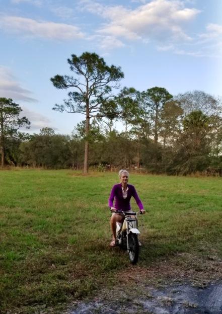 rachelle siegrist riding dirt bike