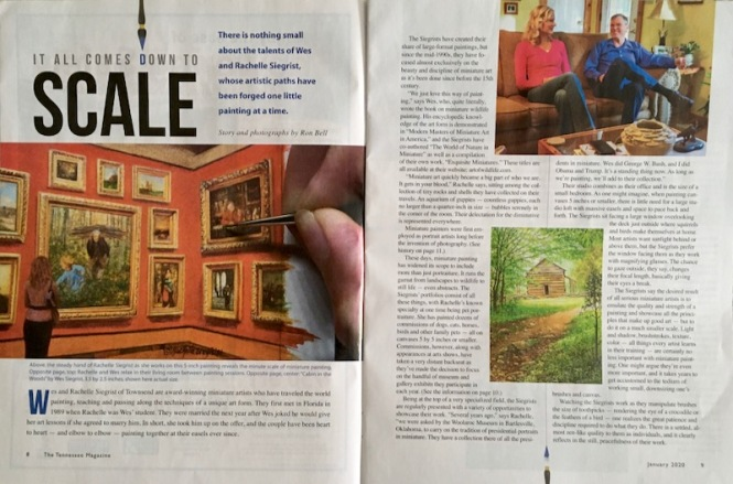 master miniature artists tennessee magazine