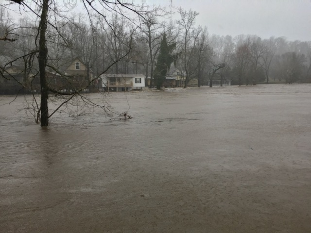 flooding in townsend