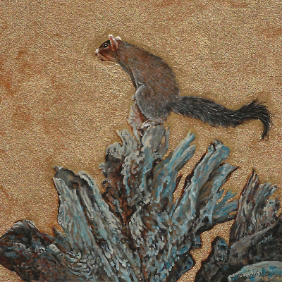 Southern_Fox_Squirrel_painting-by-Wes-Siegrist