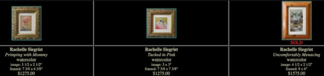 the art of miniature show rachelle siegrist paintings