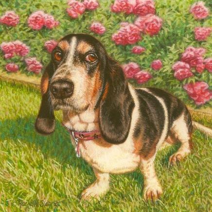 commission a Dog painting jpeg