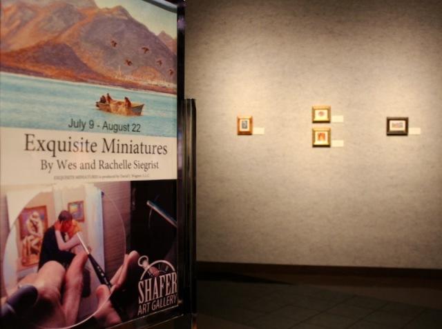 Exquisite Miniatures Shafer Art Gallery1