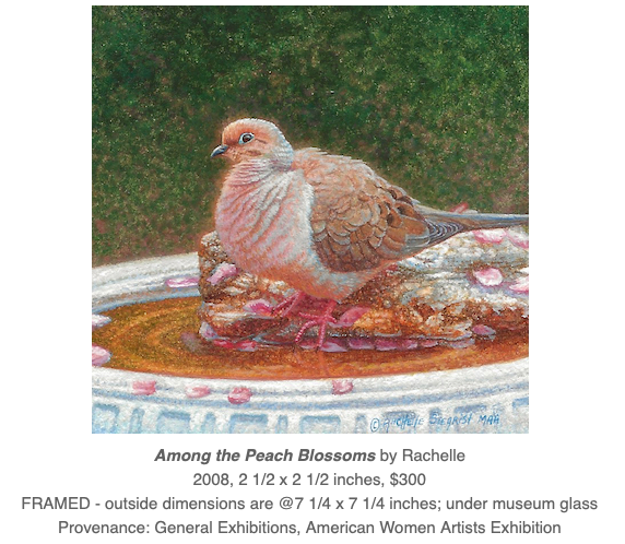 dove painting by Rachelle Siegrist