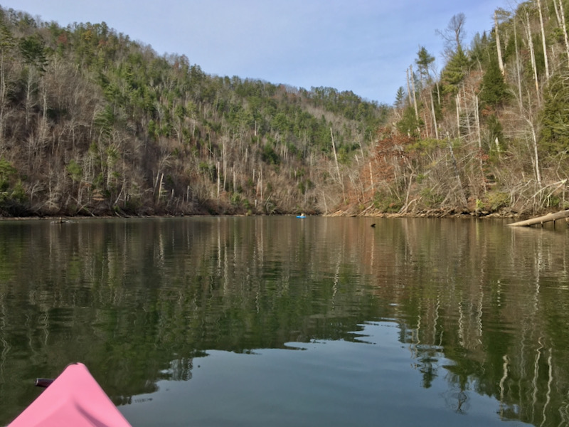 kayaking with rachelle siegrist