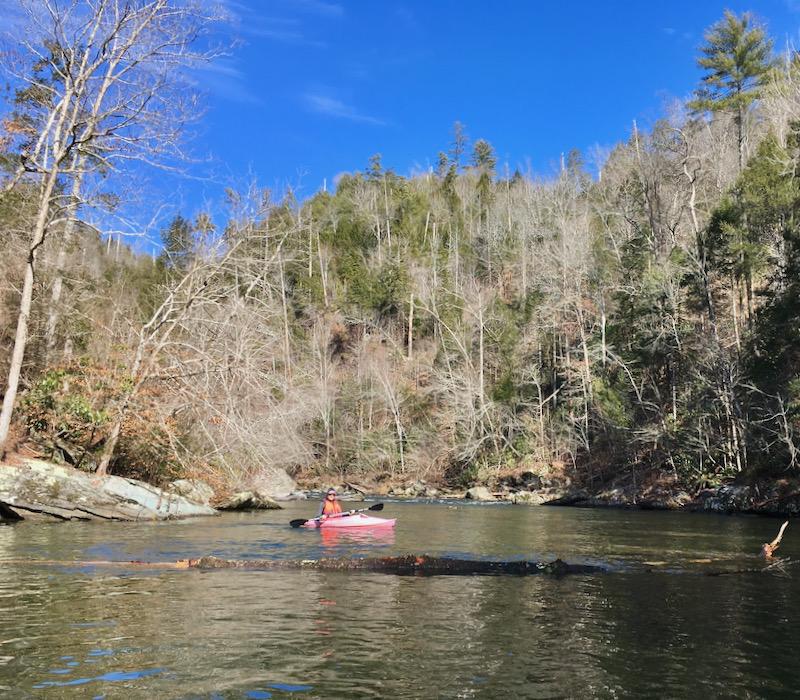 rachelle siegrist kayaking
